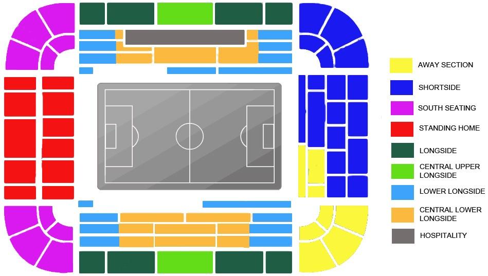 Borussia Dortmund map