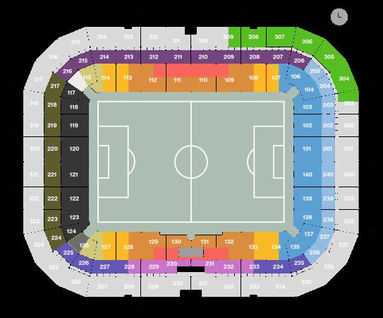 Friends Arena karta