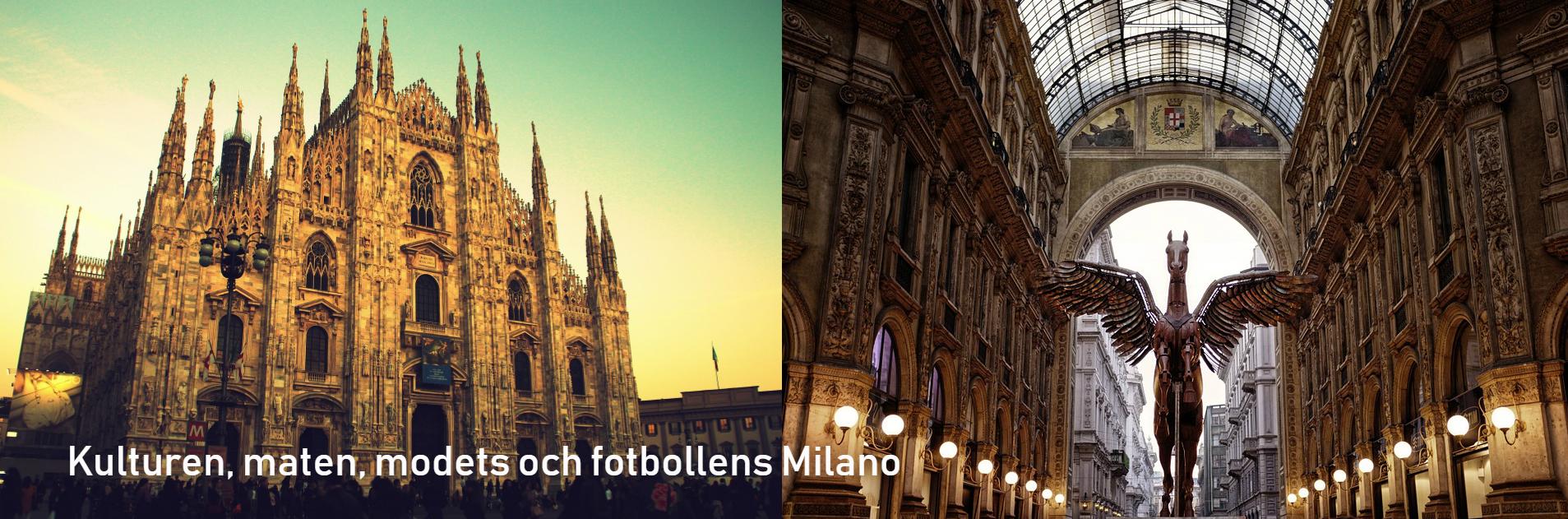 Milano banner