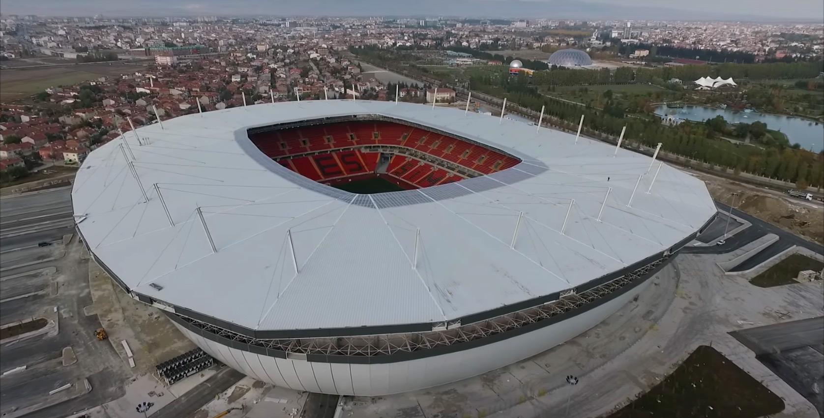New Eskisehir Stadium exterior